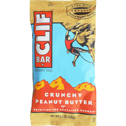 Clif Bar - Organic Crunch Peanut Butter - Case Of 12 - 2.4 Oz
