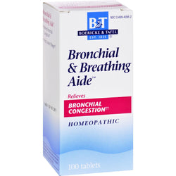 Boericke And Tafel Bronchitis And Asthma Aide - 100 Tablets