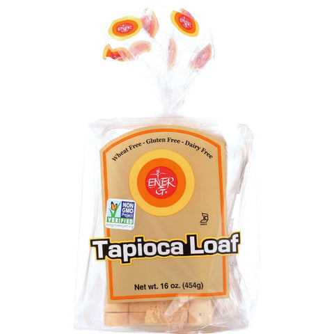 Ener-g Foods Loaf - Tapioca - Thin Sliced - 16 Oz - Case Of 6