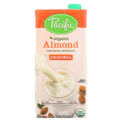 Pacific Natural Foods Almond - Non Dairy - Case Of 12 - 32 Fl Oz.