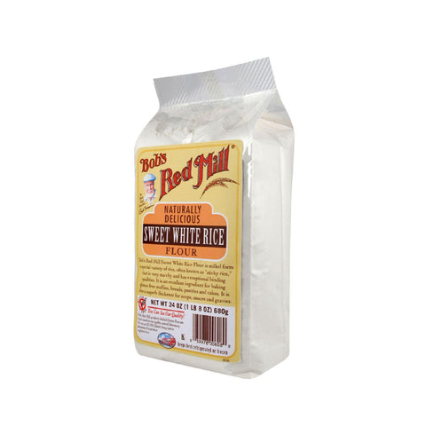 Bob's Red Mill Sweet White Rice Flour - 24 Oz - Case Of 4