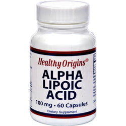 Healthy Origins Alpha Lipoic Acid - 100 Mg - 60 Caps