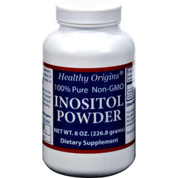 Healthy Origins Inositol Powder - 600 Mg - 8 Oz