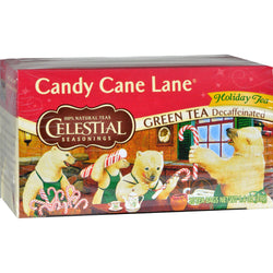 Candy Cane Lane Decaf Green Tea