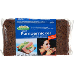 Mestemacher Bread Bread - Westphalian Classic - Pumpernickel - 17.6 Oz - Case Of 12