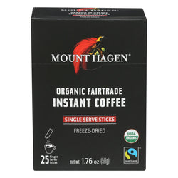 Mount Hagen Organic Instant Coffee - Coffee - Case Of 8 - 1.76 Oz.