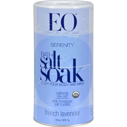 Eo Products Bath Salts French Lavender - 21.5 Oz