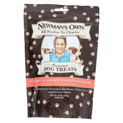 Newman's Own Organics Salmon And Sweet Potato Treats - Organic - Case Of 6 - 10 Oz.