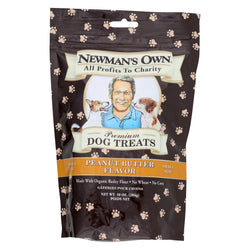 Newman's Own Organics Peanut Butter Treats - Organic - Case Of 6 - 10 Oz.