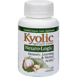 Kyolic Aged Garlic Extract Neuro-logic Memory, Learning And Mental Acuity - 120 Capsules