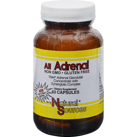 Natural Sources All Adrenal - 60 Capsules