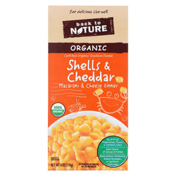Back To Nature Cheese - Case Of 12 - 6 Oz.