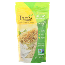 Ian's Panko Breadcrumbs - Italian - Case Of 12 - 9 Oz.