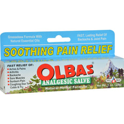Olbas Analgesic Salve - 1 Oz
