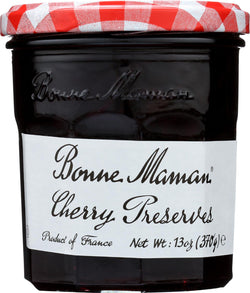 Bonne Maman Black Cherry Conserve - Case Of 6 - 13 Oz.