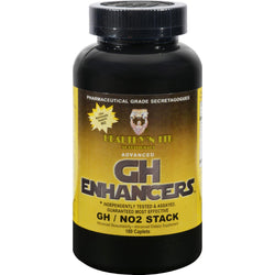 Healthy 'n Fit Nutritionals Gh Enhancers Gh No2 - 180 Capsules