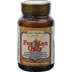 Only Natural For Men Only Formula - 30 Tablets