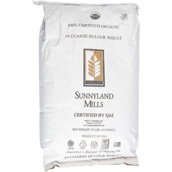 Bulk Grains Bulgur - Organic - Coarse Ground - 1 Lb - Case Of 25