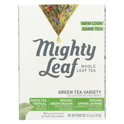 Mighty Leaf Tea Green And White Tea Variety - Case Of 6 - 15 Bags