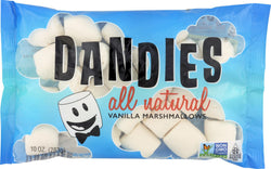 Dandies Air Puffed Marshmallows - Classic Vanilla - Case Of 12 - 10 Oz.