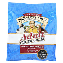 Newman's Own Organics Adult Cat Dry Formula - Case Of 8 - 3