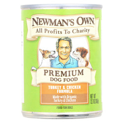 Newman's Own Organics Turkey And Chicken - Organic - Case Of 12 - 12.7 Oz.