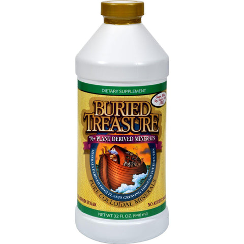 Buried Treasure 70 Plus Plant Derived Minerals - 32 Fl Oz