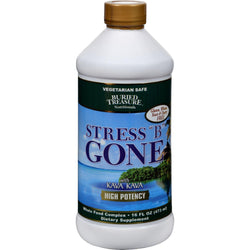 Buried Treasure Stress B Gone With Kava Kava - 16 Fl Oz