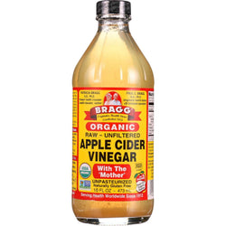 Bragg Apple Cider Vinegar - Organic - Raw - Unfiltered - 16 Oz - Case Of 12