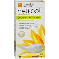 Himalayan Institute Neti-wash Eco Neti Pot Nonbreakable - 1 Pot