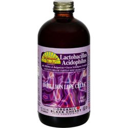 Dynamic Health Lactobacillus Acidophilus Black Cherry - 16 Fl Oz