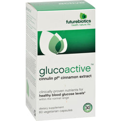 Futurebiotics Glucoactive - 60 Vegetarian Capsules