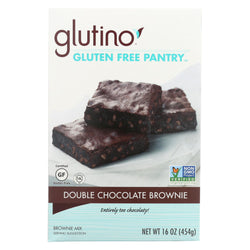 Glutino Brownie - Chocolate Truffle - Case Of 6 - 16 Oz.