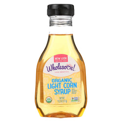 Wholesome Sweeteners Light Corn Syrup - Liquid Sweetener - Case Of 6 - 11.2 Oz.