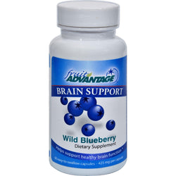Fruit Advantage Brain Support Wild Blueberry - 60 Vegetarian Capsules