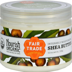 Nourish Organic Raw Shea Butter Intensive Moisturizer - 5.5 Oz