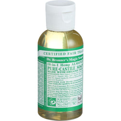 Almond Castile Liquid Soap;made W-organic Ingredients