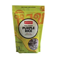 Alter Eco Americas Rice - Thai Sticky Purple - Case Of 8 - 16 Oz.