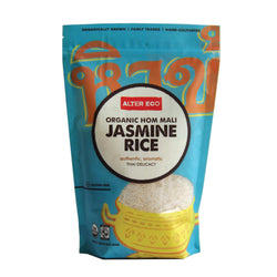 Alter Eco Americas Rice - Hom Mali Jasmine - Case Of 8 - 16 Oz.