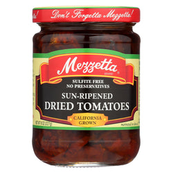 Mezzetta Sun - Ripened Dried Tomatoes In Olive Oil - Case Of 6 - 8 Fl Oz.