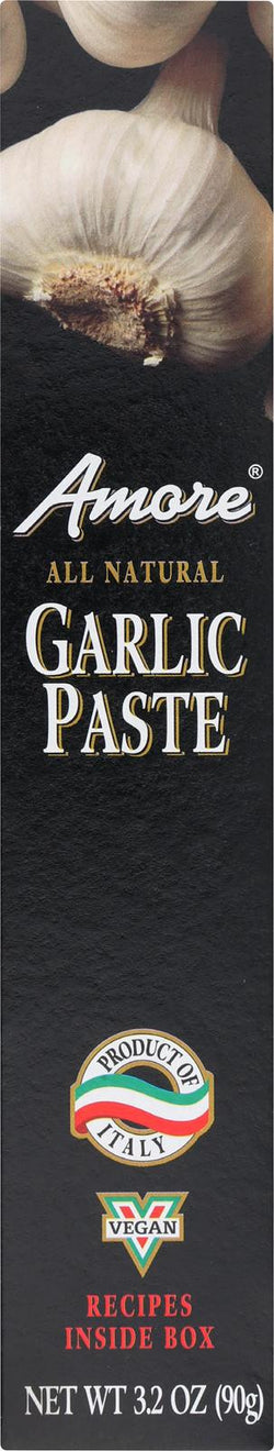 Amore Garlic Paste - Case Of 12 - 3.15 Oz.