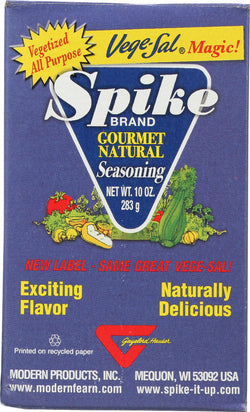 Modern Products Gourmet Natural Seasoning - Vege-sal - Case Of 12 - 10 Oz.