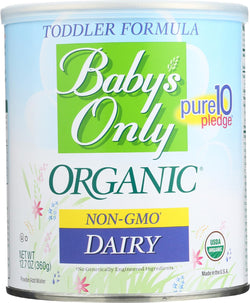 Baby's Only Organic Dairy Iron Fortified Toddler Formula - Case Of 6 - 12.7 Oz.