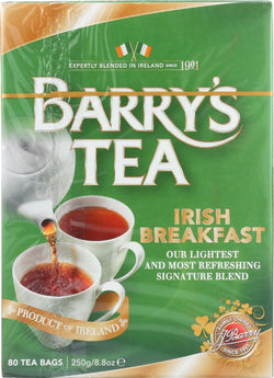 Barry's Tea Irish Tea - Irish Breakfast - Case Of 6 - 80 Bags