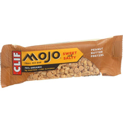 Clif Bar Organic Mojo Bar - Peanut Butter Pretzel - Case Of 12 - 1.59 Oz Bars