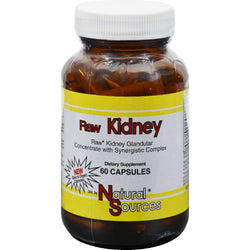 Natural Sources Raw Kidney - 60 Capsules