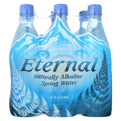 Eternal Naturally Artesian Water - Case Of 4 - 600 Ml