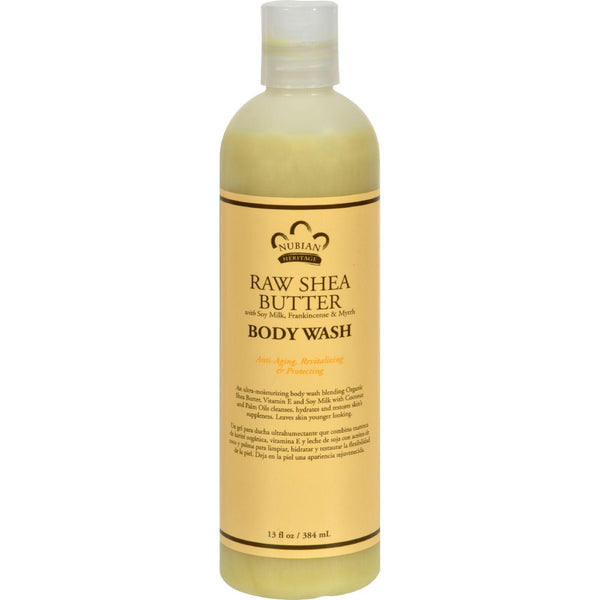 Body Wash; Raw Shea Butter
