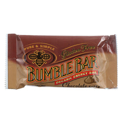 Bumble Bar Organic Sesame Bar - Chocolate Crisp - Case Of 12 - 1.4 Oz.