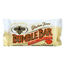Bumble Bar Organic Sesame Bar - Amazing Almond - Case Of 12 - 1.4 Oz.